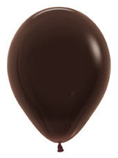 "9"" Deluxe Chocolate Latex Balloon"