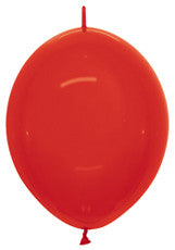 "Link-O-Loon 12"" Crystal Red"