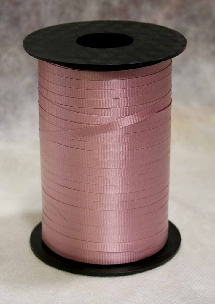 Mauve Curling Ribbon
