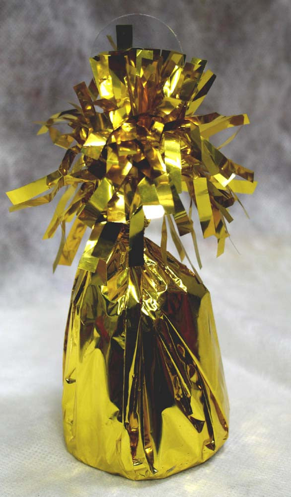 Jumbo Gold Foil Balloon Weight
