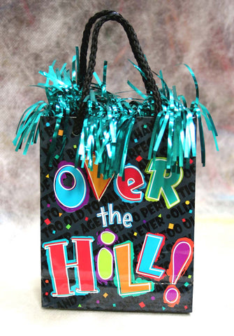 Over The Hill Mini-Tote Foil Balloon Weight