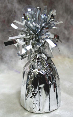 Jumbo Silver Foil Balloon Weight