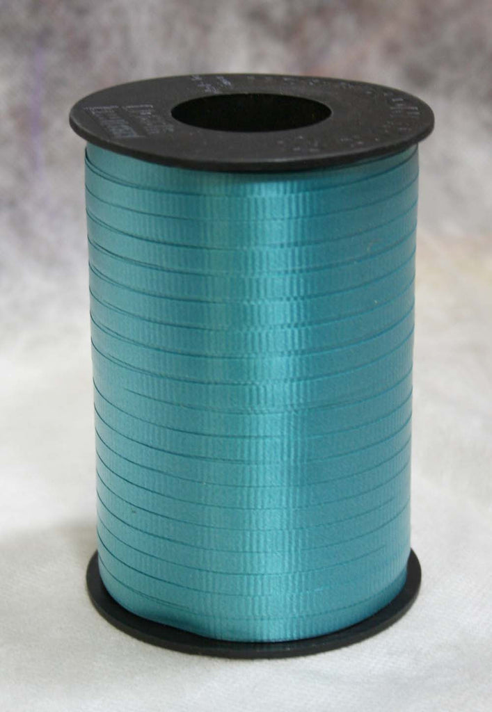 Turquoise Blue Curling Ribbon