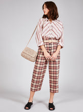 Load image into Gallery viewer, High Waist Check Trousers - CLANDESTIN PLAID