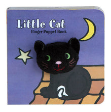 Load image into Gallery viewer, Little Cat Finger Puppet Book