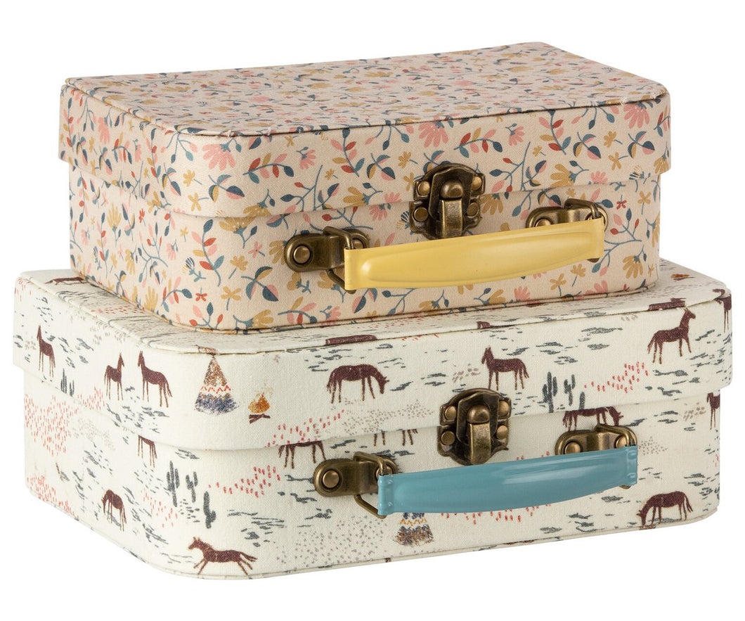 Suitcase with Fabric (2 Sizes)
