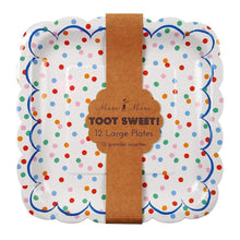Load image into Gallery viewer, Toot Sweet Spotty Large Plates (12)