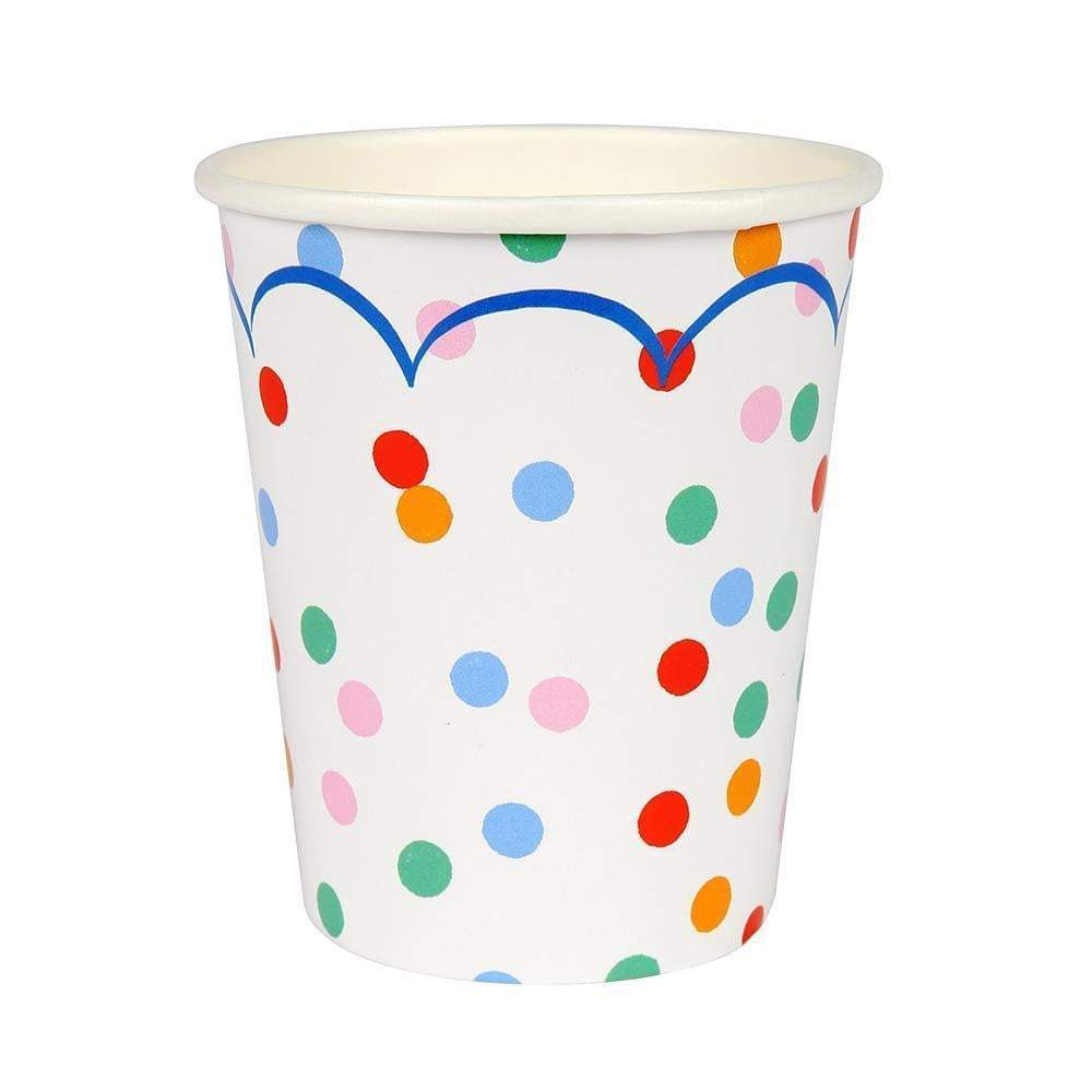 Toot Sweet Spotty Party Cups (12)