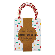 Load image into Gallery viewer, Toot Sweet Spotty Party Bags (8)