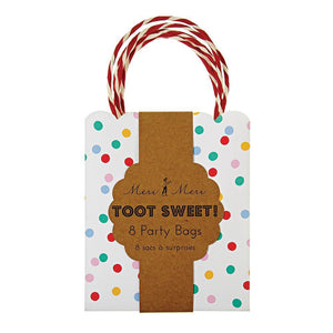 Toot Sweet Spotty Party Bags (8)