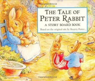 The Tale of Peter Rabbit Story Board Book (The World of Beatrix Potter: Peter Rabbit) by Beatrix Potter