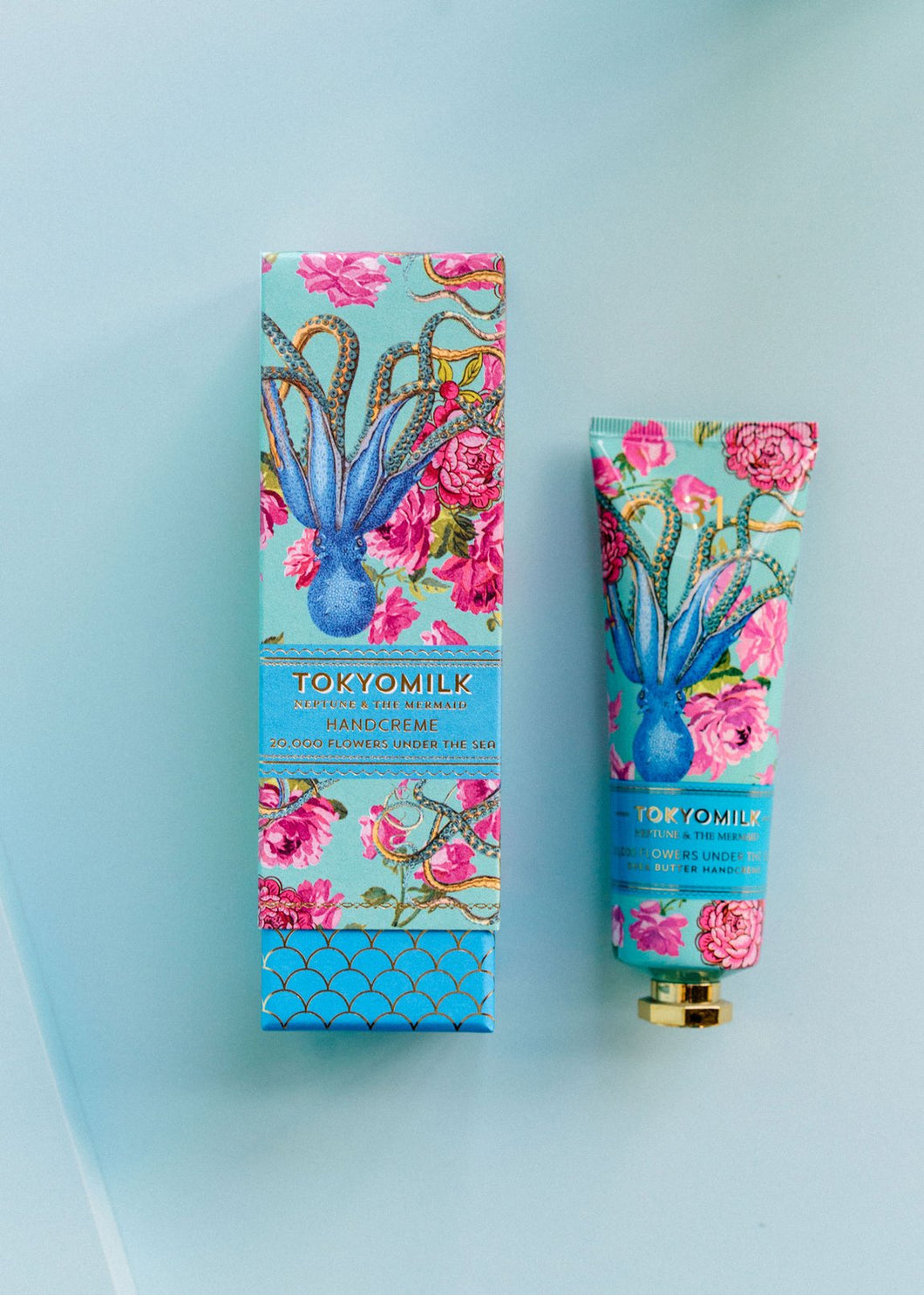 20,000 Flowers Under the Sea Shea Butter Handcreme - Neptune & the Mermaid
