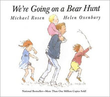 Load image into Gallery viewer, We're Going on a Bear Hunt by Michael Rosen,  Helen Oxenbury