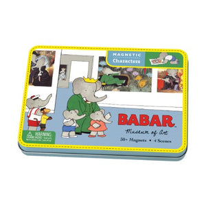 Magnetic Characters: Babar Museum of Art