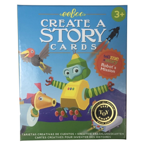 Robot's Mission - Create a Story Cards