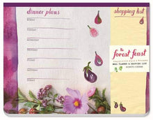 Load image into Gallery viewer, The Forest Feast Meal Planner & Shopping List with Magnet