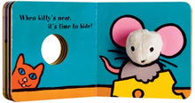 Load image into Gallery viewer, Little Mouse Finger Puppet Book
