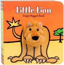 Load image into Gallery viewer, Little Lion Finger Puppet Book