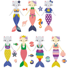 Load image into Gallery viewer, Magnetic Dress-up: Purrmaid