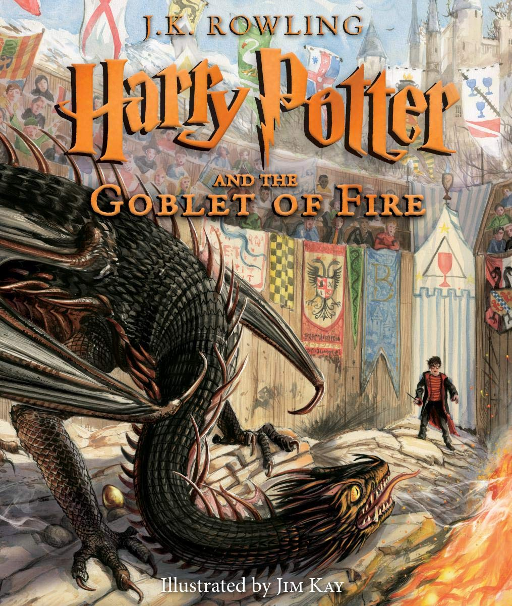 Harry Potter and the Goblet of Fire: The Illustrated Edition (Harry Potter, Book 4)
