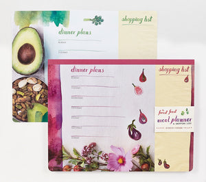 The Forest Feast Meal Planner & Shopping List with Magnet
