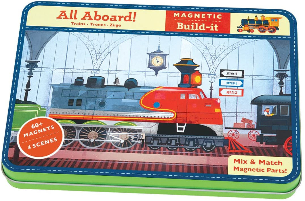Magnetic Build-It: All Aboard!