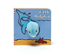 Load image into Gallery viewer, Little Dolphin Finger Puppet Book