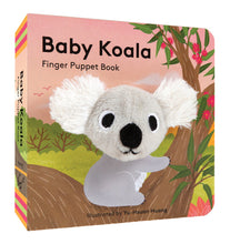 Load image into Gallery viewer, Baby Koala Finger Puppet Book