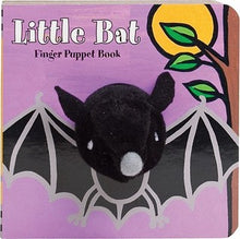 Load image into Gallery viewer, Little Bat Finger Puppet Book