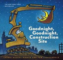 Load image into Gallery viewer, Goodnight, Goodnight, Construction Site by Sherri Duskey Rinker,  Tom Lichtenheld (Illustrator)