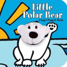 Load image into Gallery viewer, Little Polar Bear Finger Puppet Book