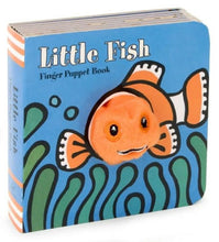 Load image into Gallery viewer, Little Fish Finger Puppet Book