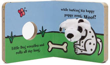 Load image into Gallery viewer, Little Dog Finger Puppet Book