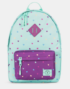 Bayside Backpack - Candy Hearts Mint
