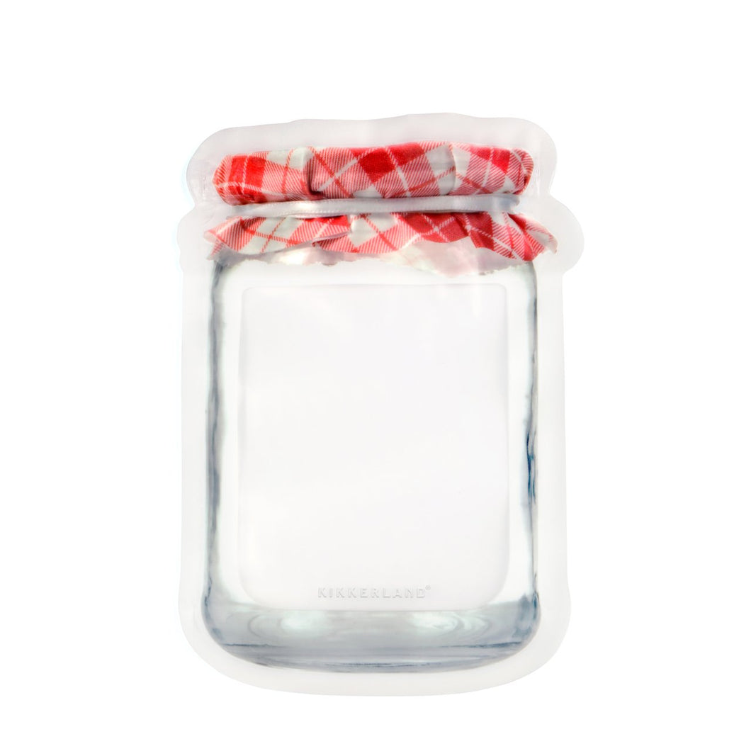 Jam Jar Zipper Bags