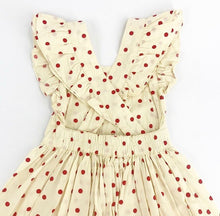 Load image into Gallery viewer, helloSimone Red Polka Dot Laura Dress