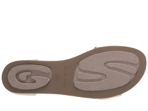 Break Elastic Sandal - Stone