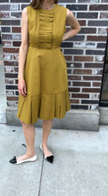 Load image into Gallery viewer, Orla Kiely Ochre Ottoman Erica Sleeveless Dress