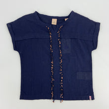 Load image into Gallery viewer, Scotch R'Belle Navy Sequin Blouse