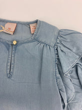 Load image into Gallery viewer, Scotch R'Belle Chambray Ruffle Sleeve Dress