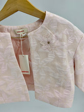 Load image into Gallery viewer, Catimini Light Pink Floral Embroidery Formal Jacket