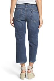 Eileen Fisher Straight Cropped Jean