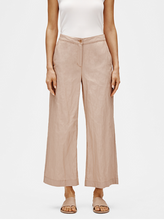 Load image into Gallery viewer, Bramble Wide-leg Cotton Steel Ankle Pant