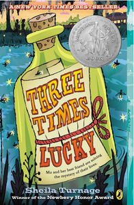 THREE TIMES LUCKY - by, Sheila Turnage