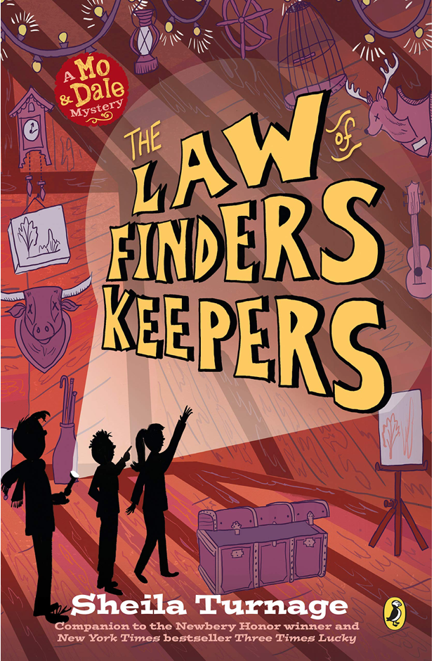 THE LAW FINDERS KEEPERS - by, Sheila Turnage
