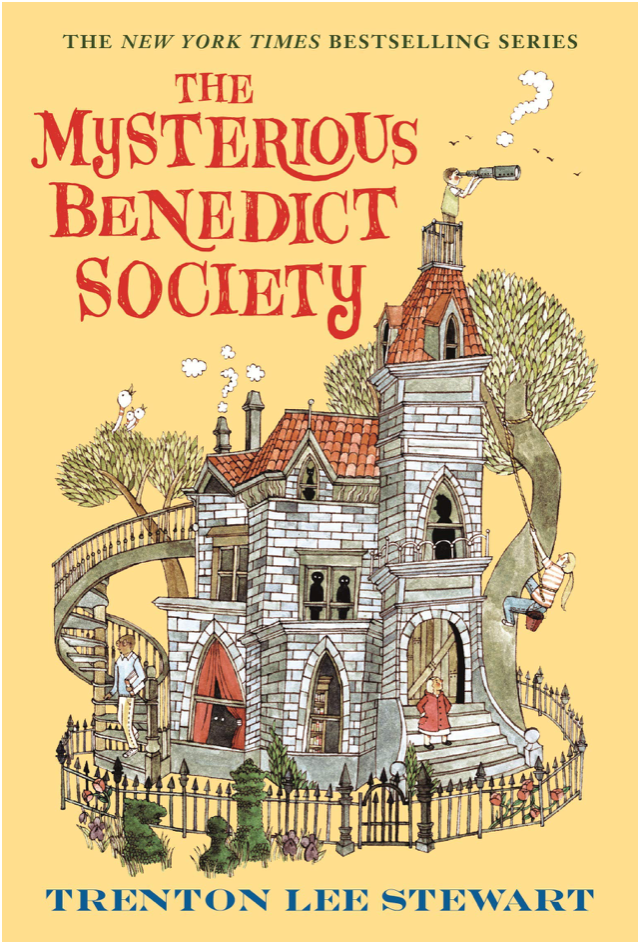 THE MYSTERIOUS BENEDICT SOCIETY - by, Trenton Lee Stewart