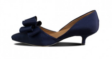 Load image into Gallery viewer, Bow Bow D'Orsay Black Heel