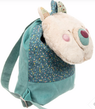 Load image into Gallery viewer, Les Jolis Trop Beaux Cream Bear Backpack