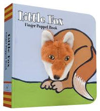 Load image into Gallery viewer, Little Fox Finger Puppet Book