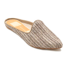 Load image into Gallery viewer, Raffia Grant Mule in Smoke